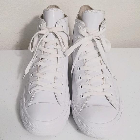 White Converse-Chuck Taylor HI-144746C
